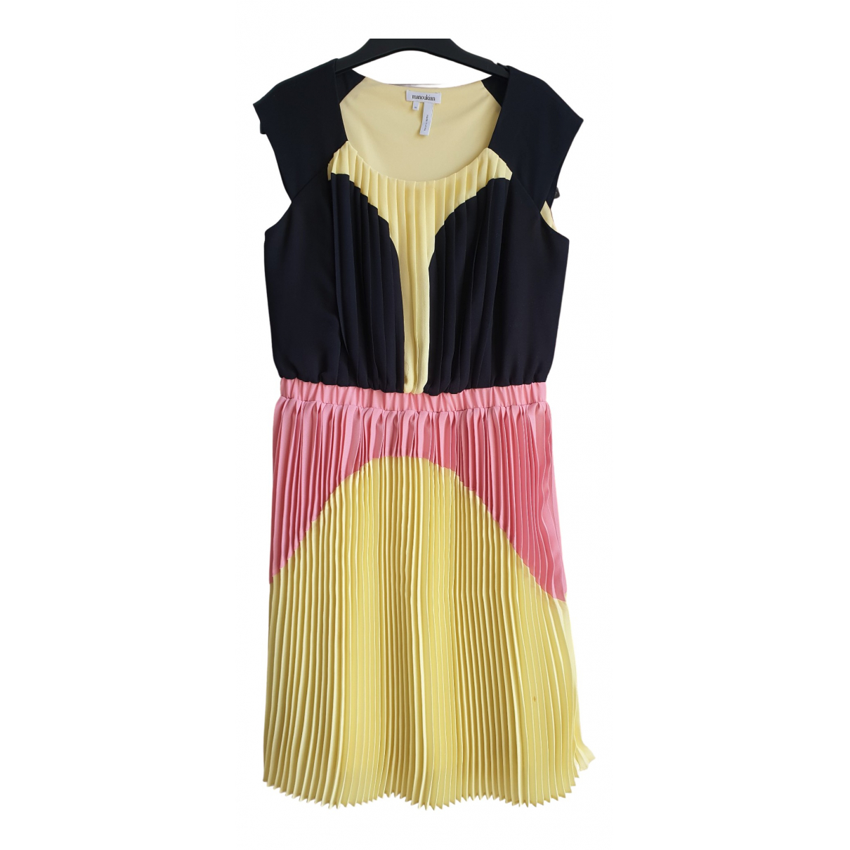 Non Signe / Unsigned \N Kleid in  Bunt Polyester