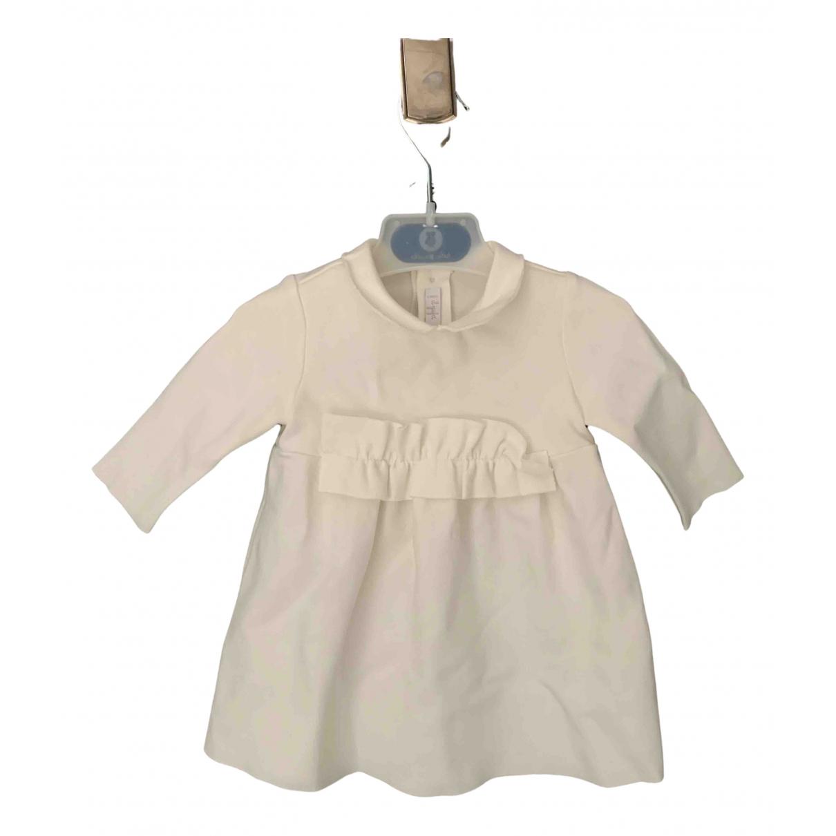 Il Gufo - Robe    pour enfant - blanc