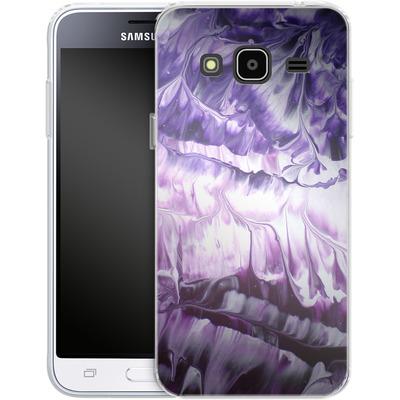 Samsung Galaxy J3 (2016) Silikon Handyhuelle - Macro 5 von Gela Behrmann