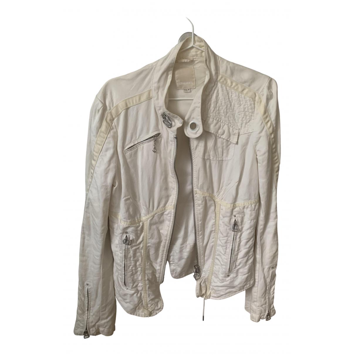 Diesel N Beige Cotton jacket for Women M International
