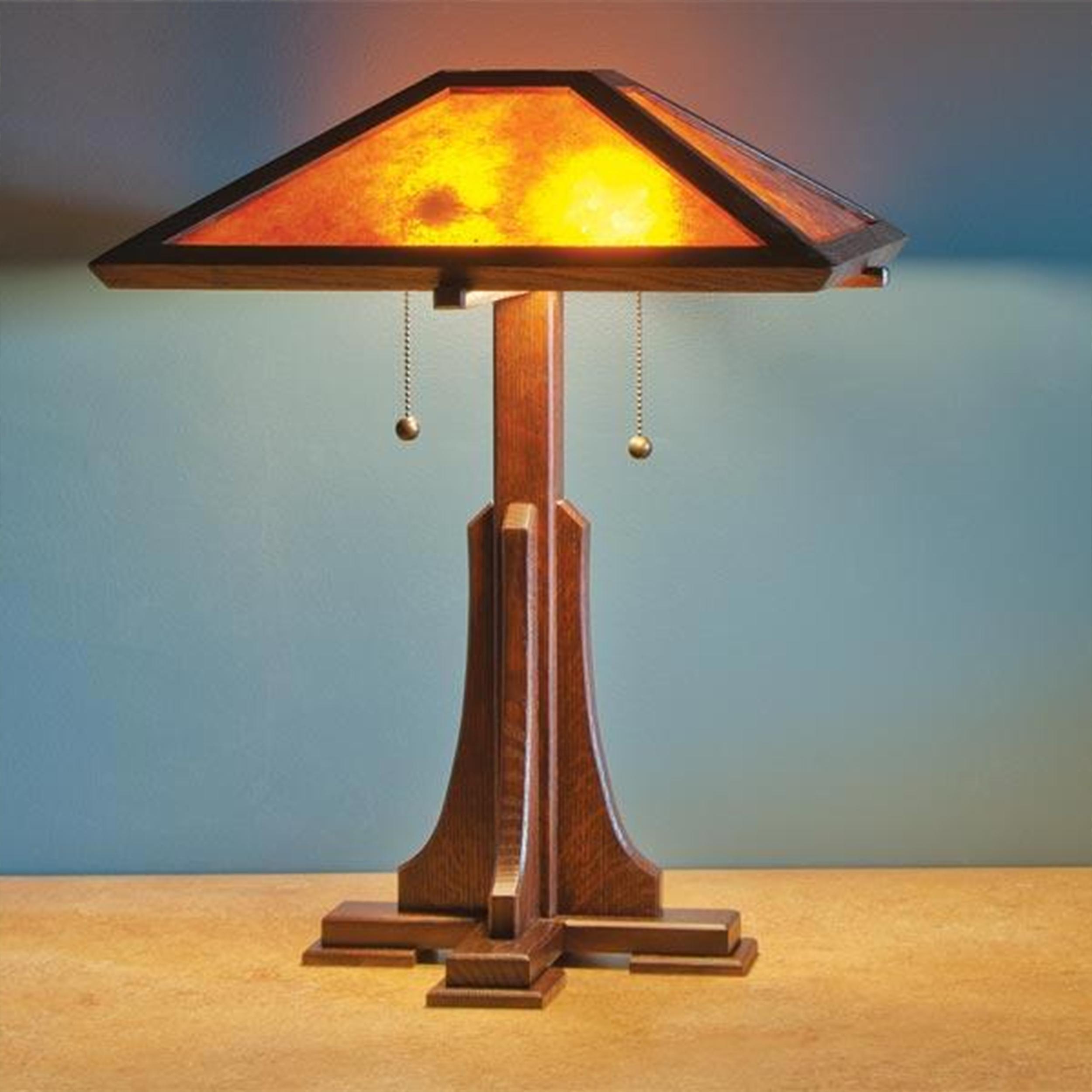 Arts & Craft Lamp - Paper Plan