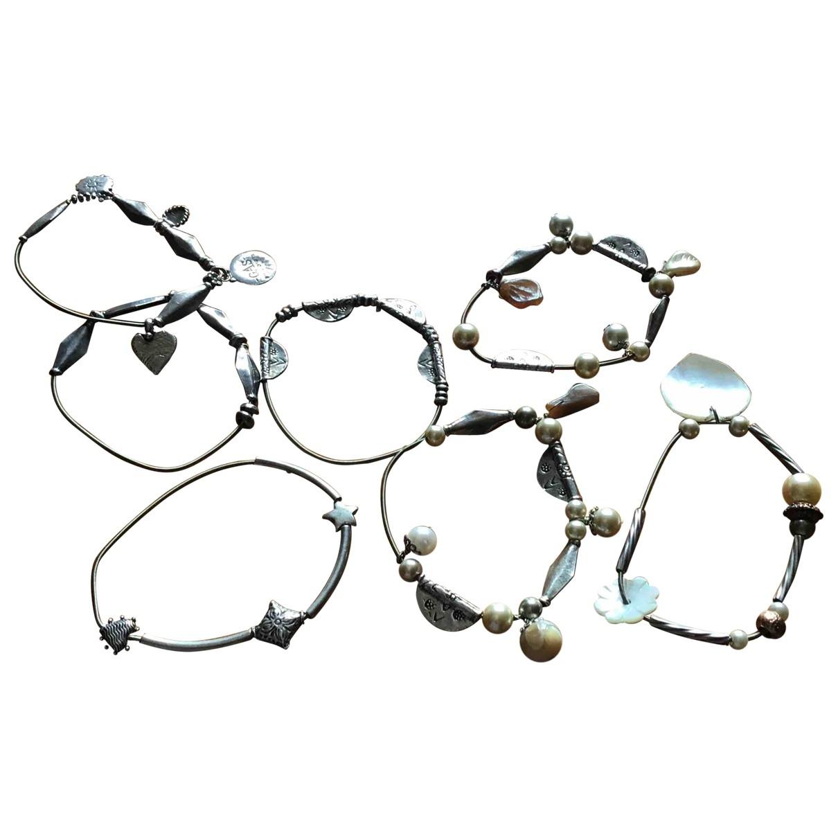 Gas - Bracelet   pour femme en acier - argente