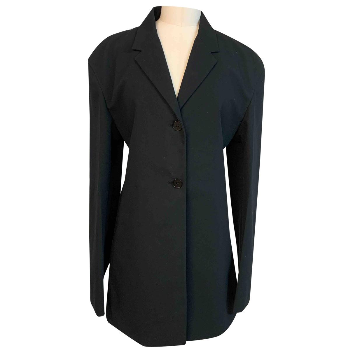Jil Sander N Black Cotton jacket for Women 44 IT