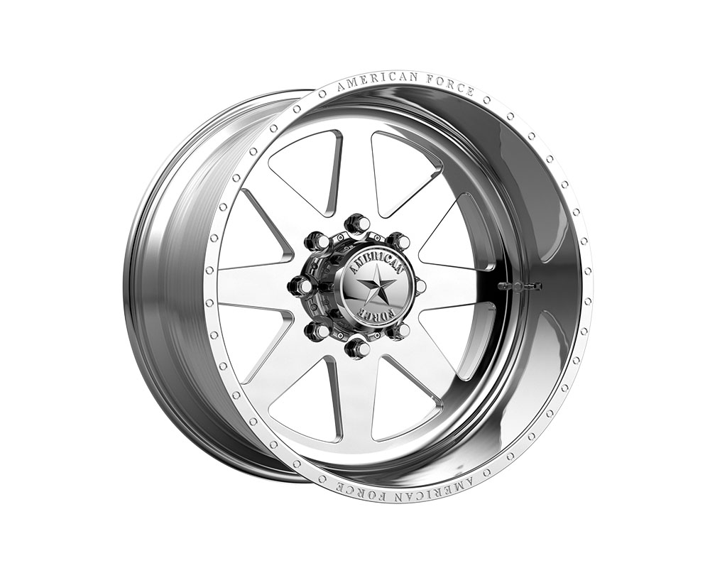 American Force AFTE11D22-1-21 AFW 11 Independence SS Wheel 20x12 8x8x165.1 -40mm Polished