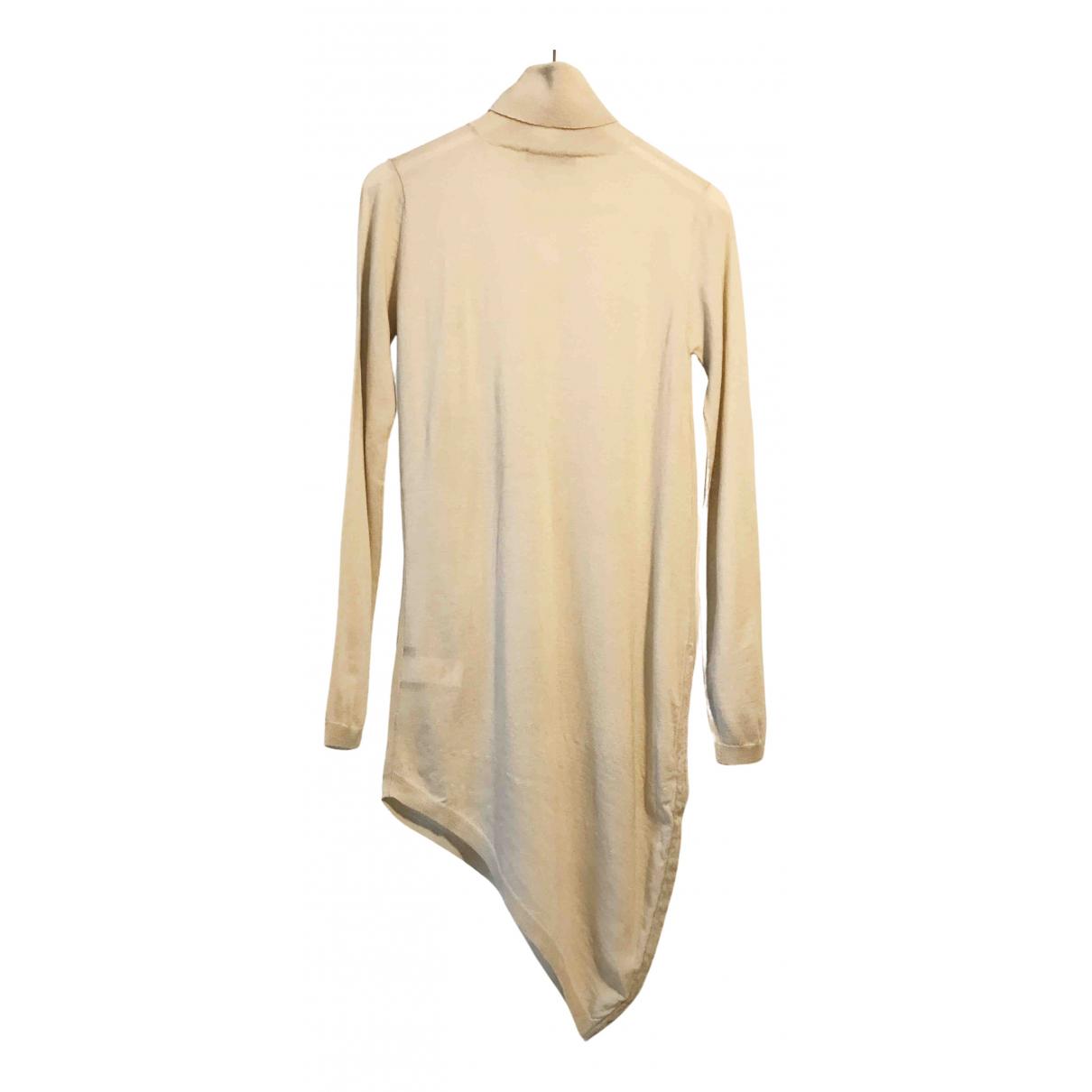 Jil Sander - Pull   pour femme en laine - beige