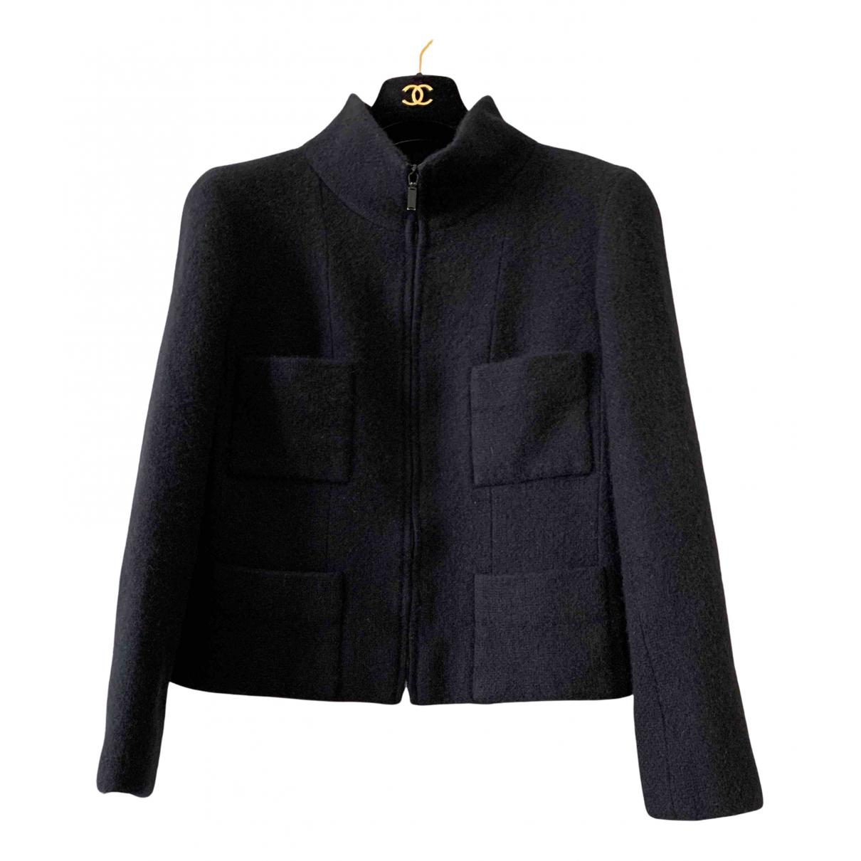 Chanel \N Black Cashmere jacket for Women 42 FR