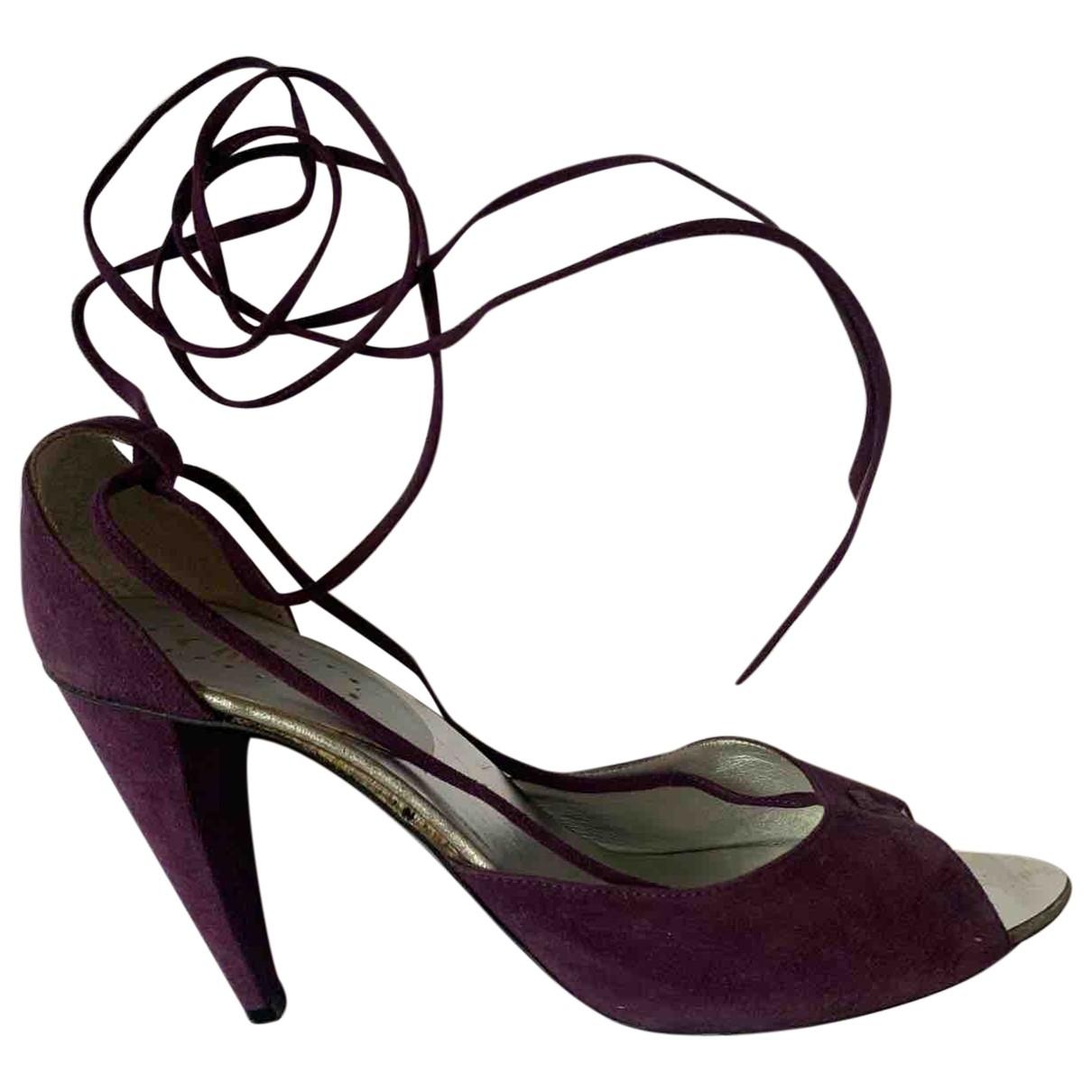 Chloe - Escarpins   pour femme en suede - violet
