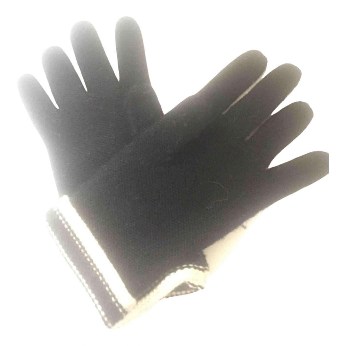 Sonia Rykiel \N Hut, Muetzen, Handschuhe in  Schwarz Wolle