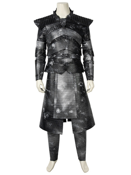 Milanoo Game Of Thrones Cosplay Costume Nights King Faux Leather Cosplay Custome