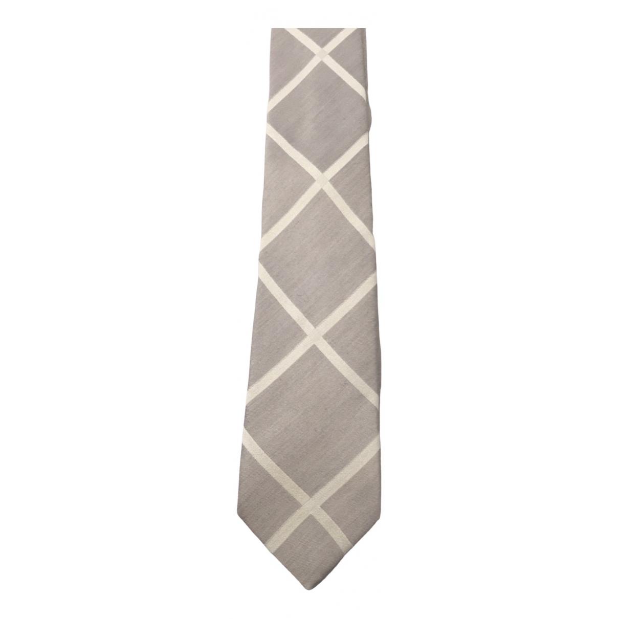 Hugo Boss \N Grey Silk Ties for Men \N