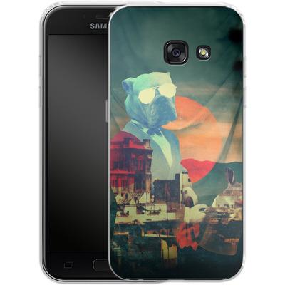 Samsung Galaxy A3 (2017) Silikon Handyhuelle - Abracadabra von Ali Gulec