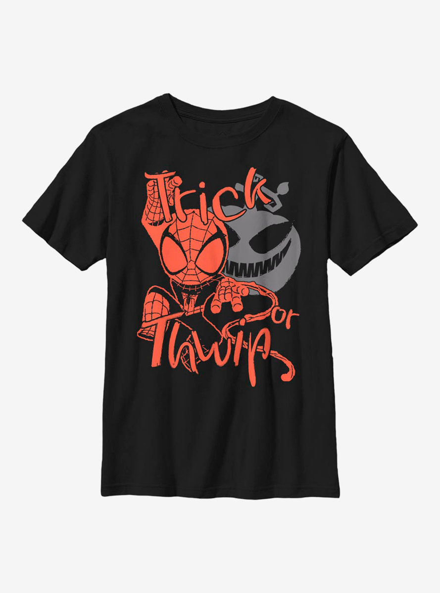 Marvel Spider-Man Trick Or Thwip Youth T-Shirt