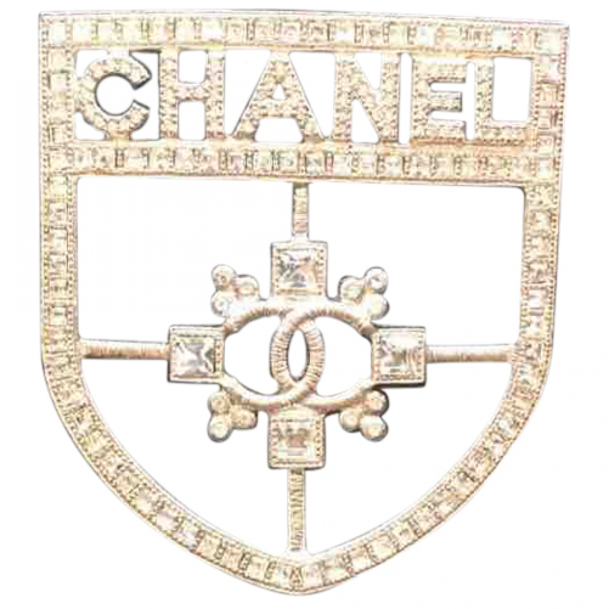 Chanel N Silver Metal Pins & brooches for Women N