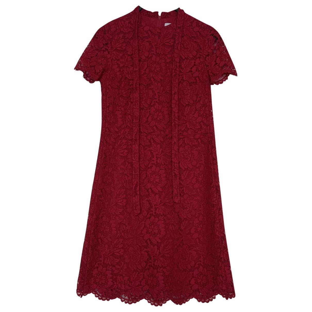 Mini vestido de Encaje Valentino Garavani