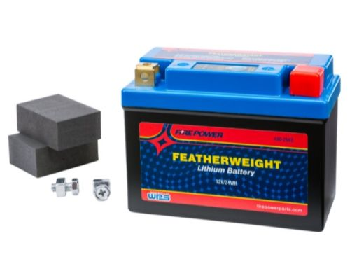 Fire Power Parts 490-2503 Featherweight Lithium Battery 120 Cca Hjb7bl-Fp-Il 12v/24wh 490-2503