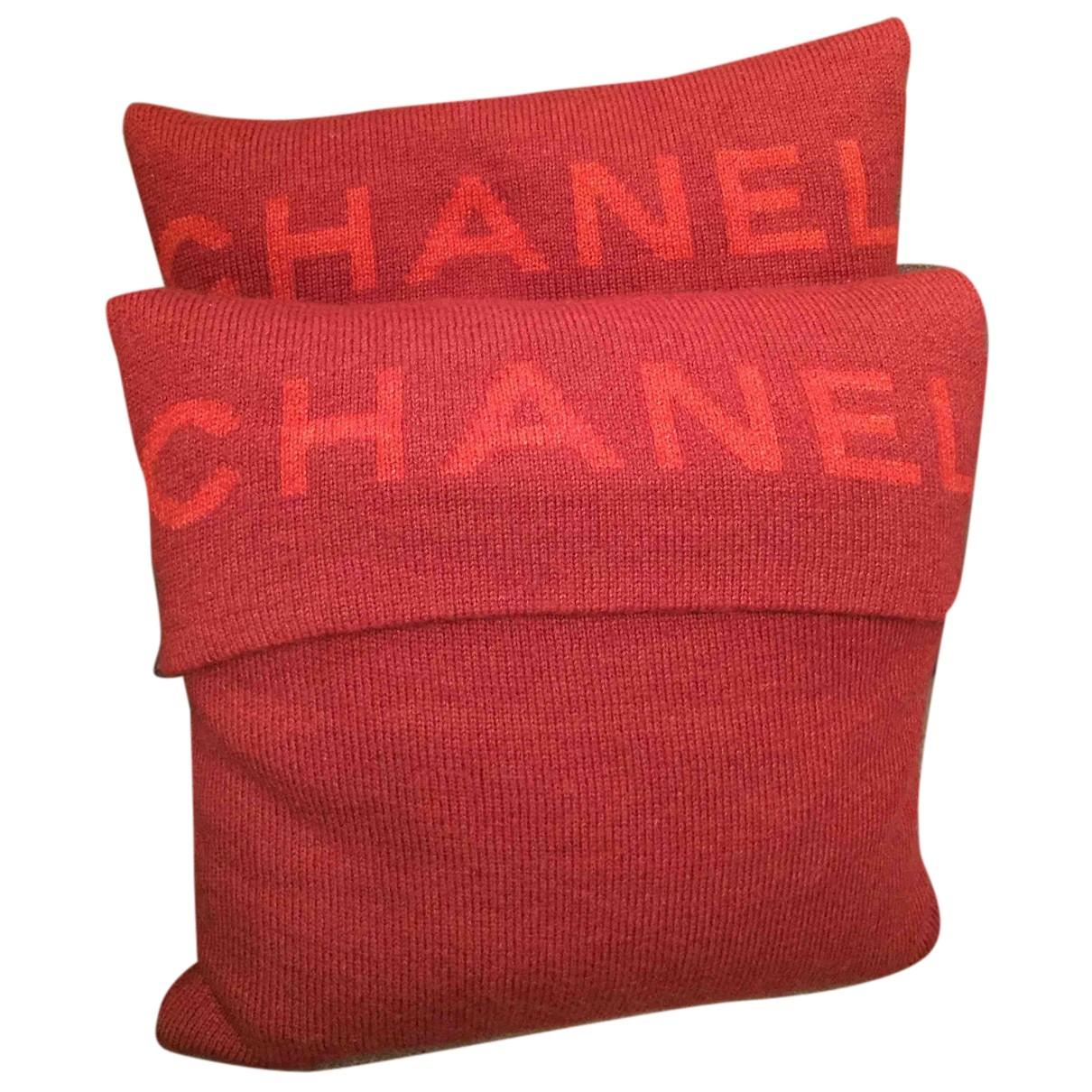 Chanel - Linge de maison   pour lifestyle en laine - bordeaux