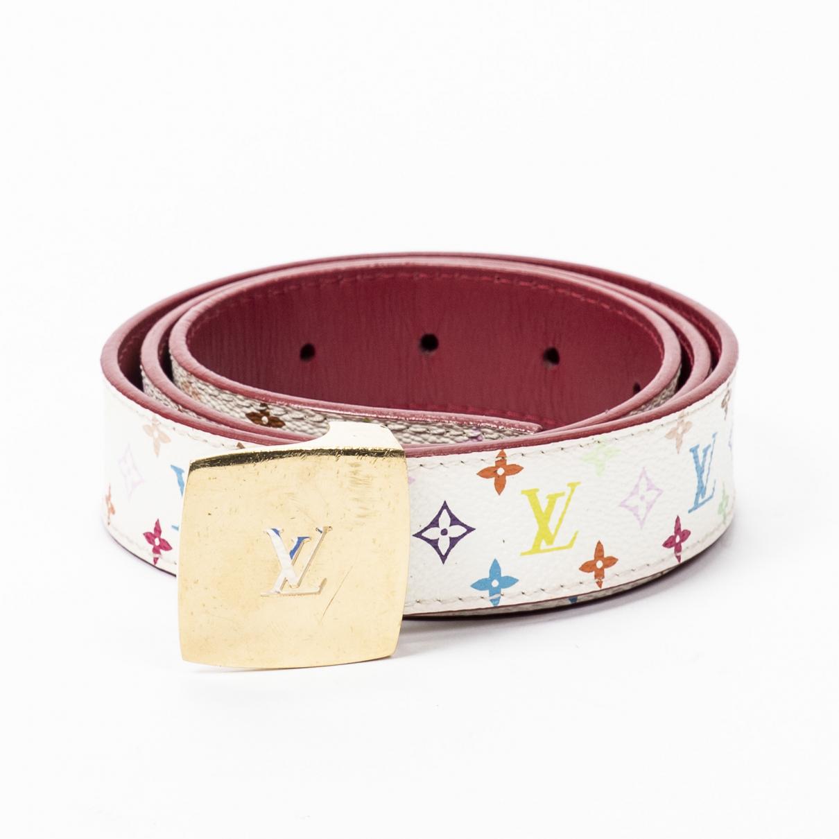 Louis Vuitton \N White Cloth belt for Women 85 cm