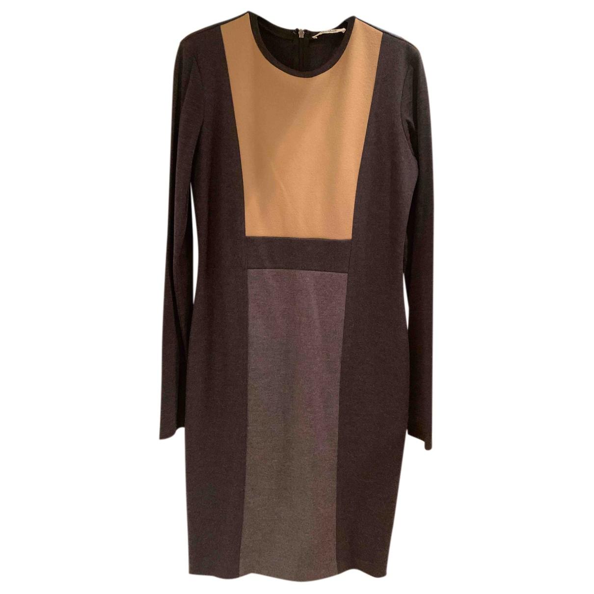 Max Mara N Grey Wool dress for Women 42 IT