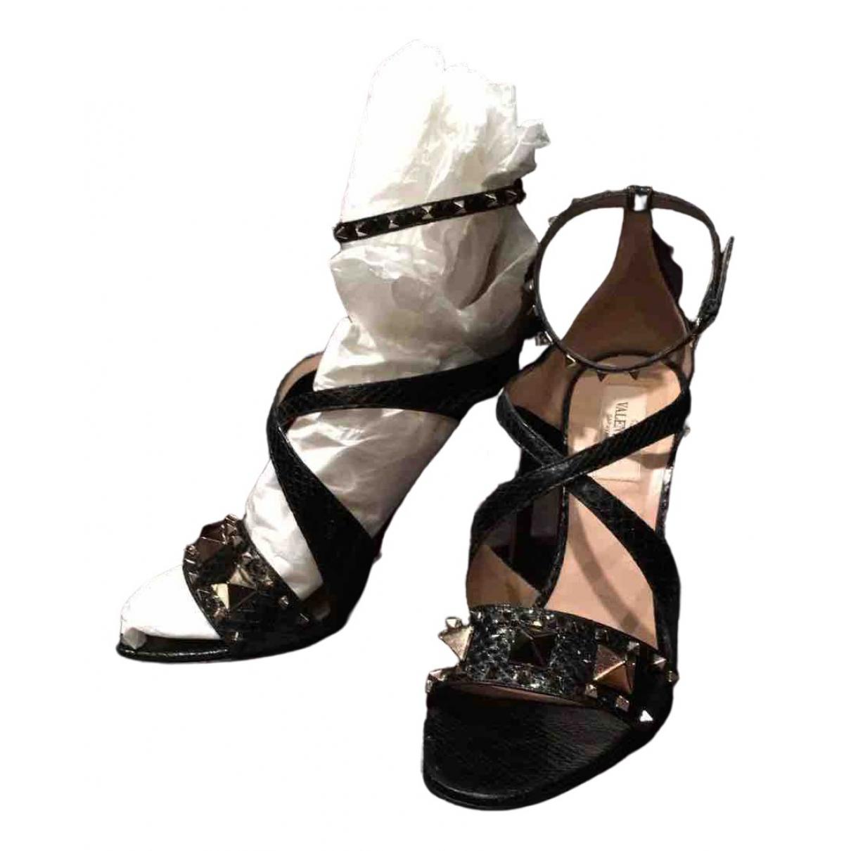 Sandalias de Piton Valentino Garavani