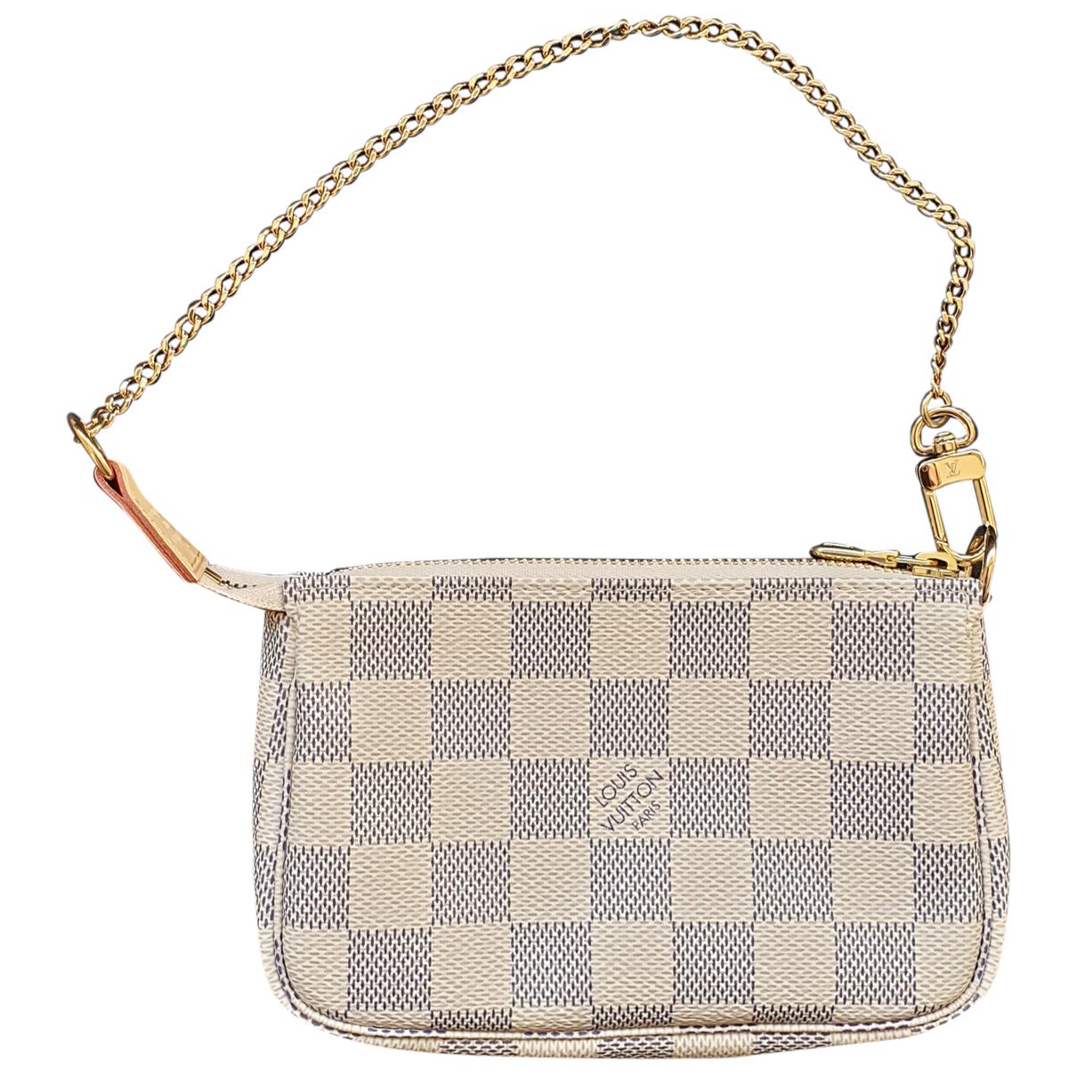 Louis Vuitton - Pochette Pochette Accessoire pour femme en toile - blanc