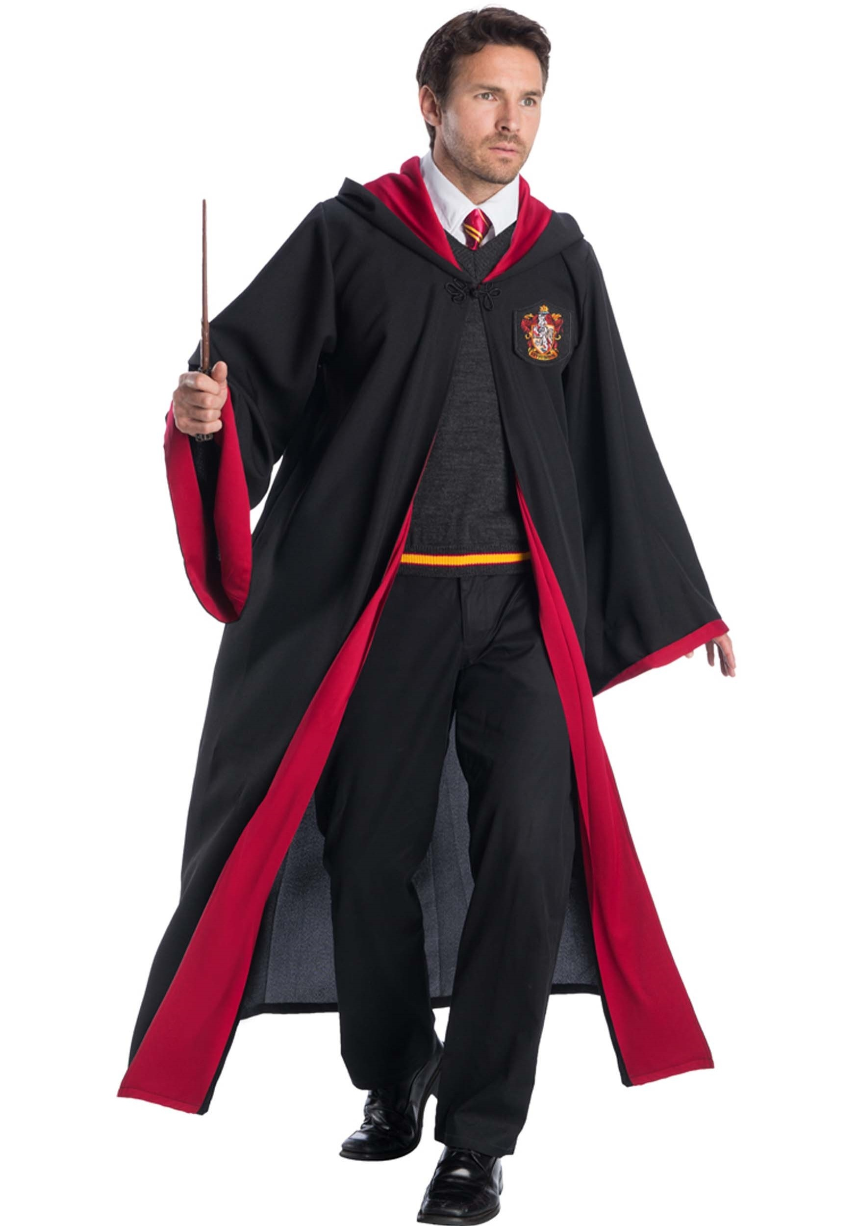 Deluxe Gryffindor Student Costume for Adults