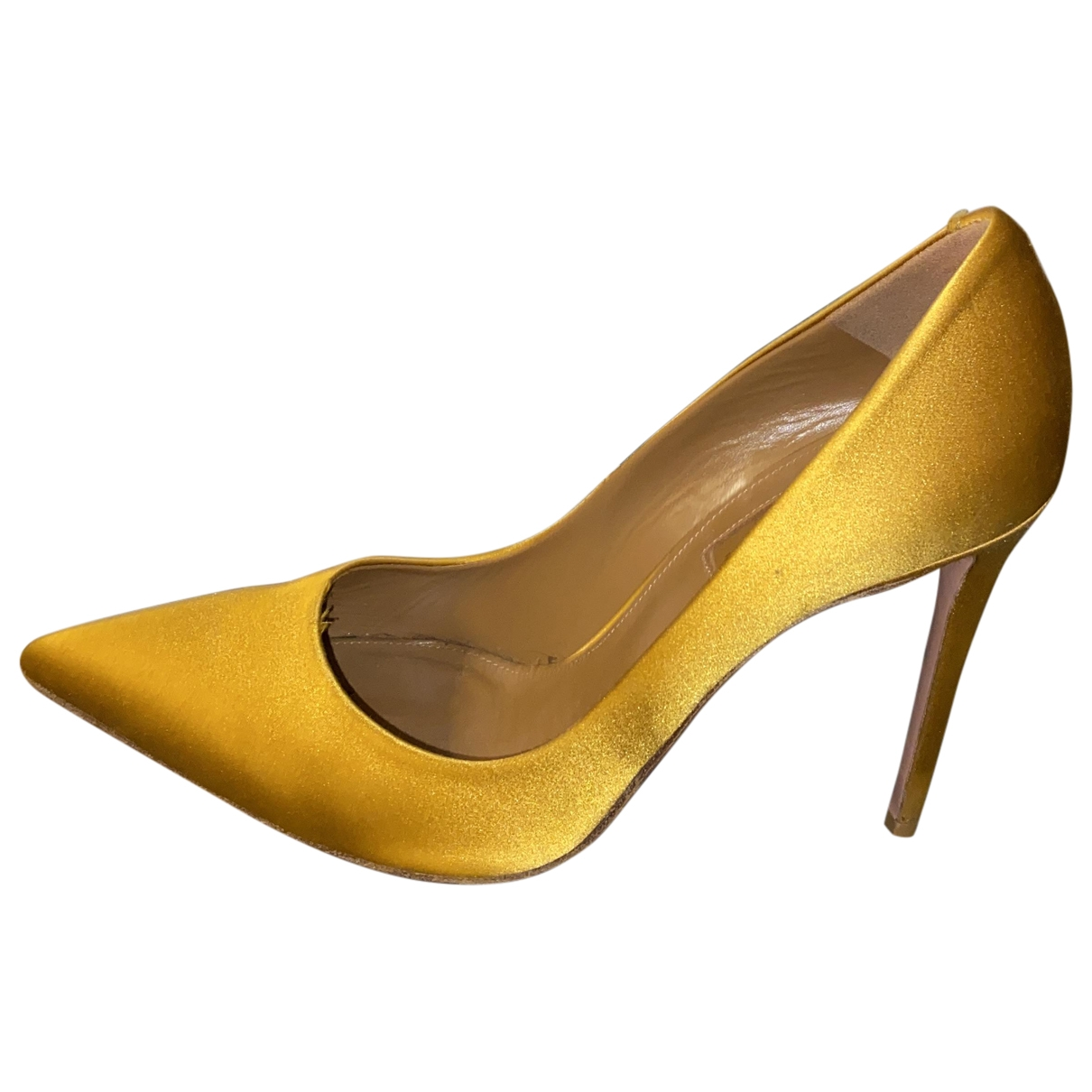 Aquazzura - Escarpins   pour femme - jaune