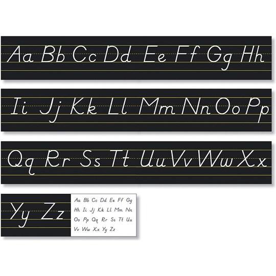 North Star Teacher Resources Black Modern Alphabet Line, 14Ft | Michaels®