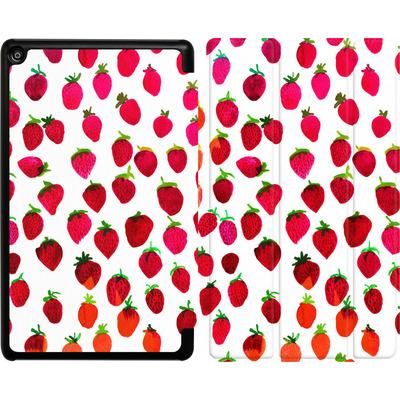 Amazon Fire HD 8 (2017) Tablet Smart Case - Strawberries von Amy Sia