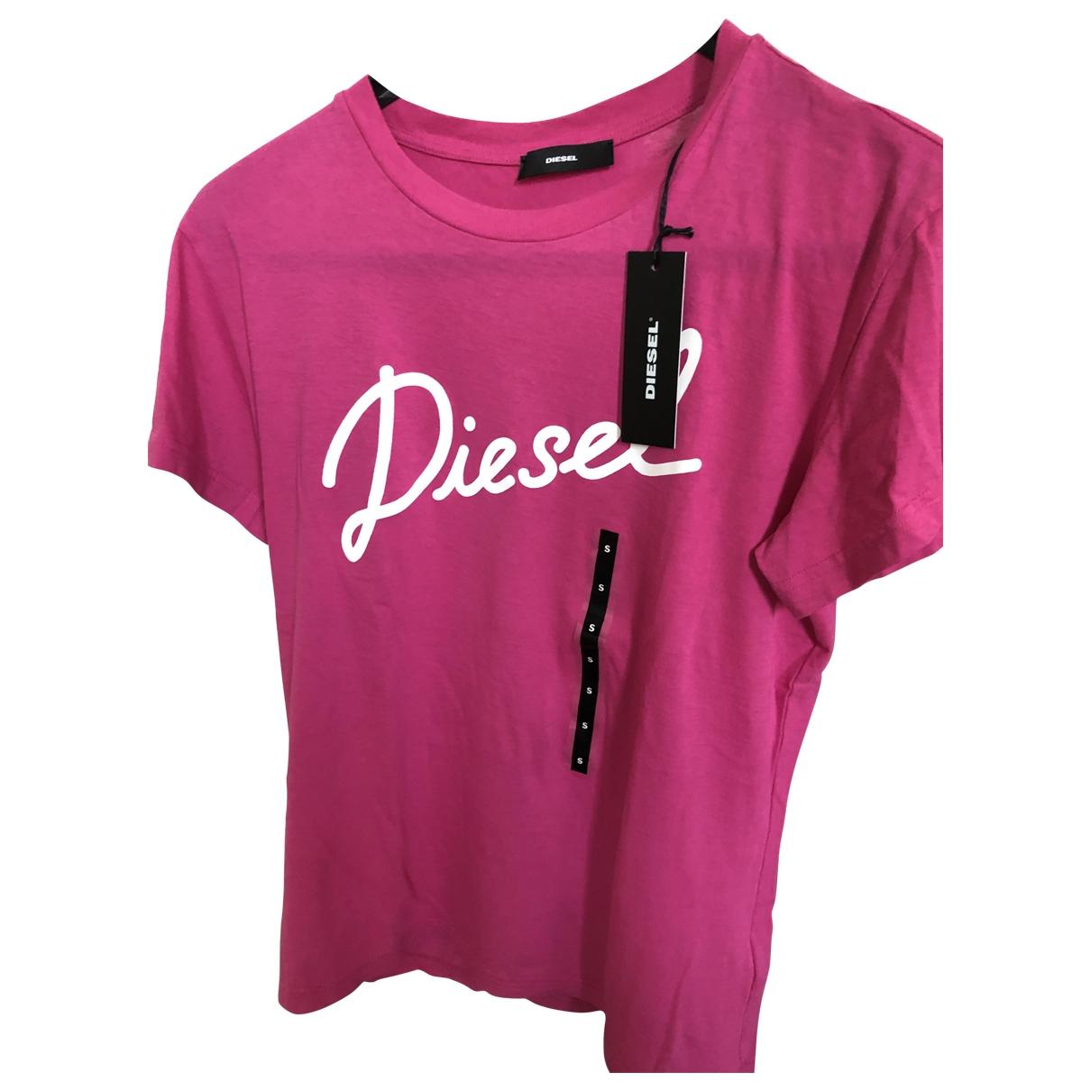 Diesel \N Top in  Rosa Baumwolle