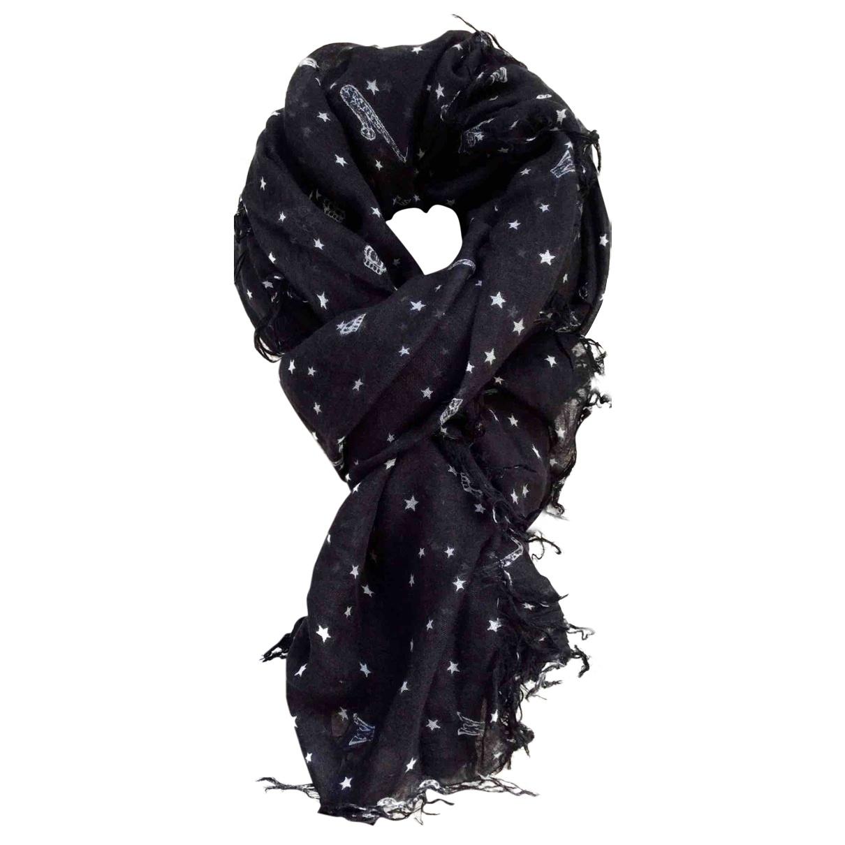 Scotch & Soda \N Black Linen scarf for Women \N