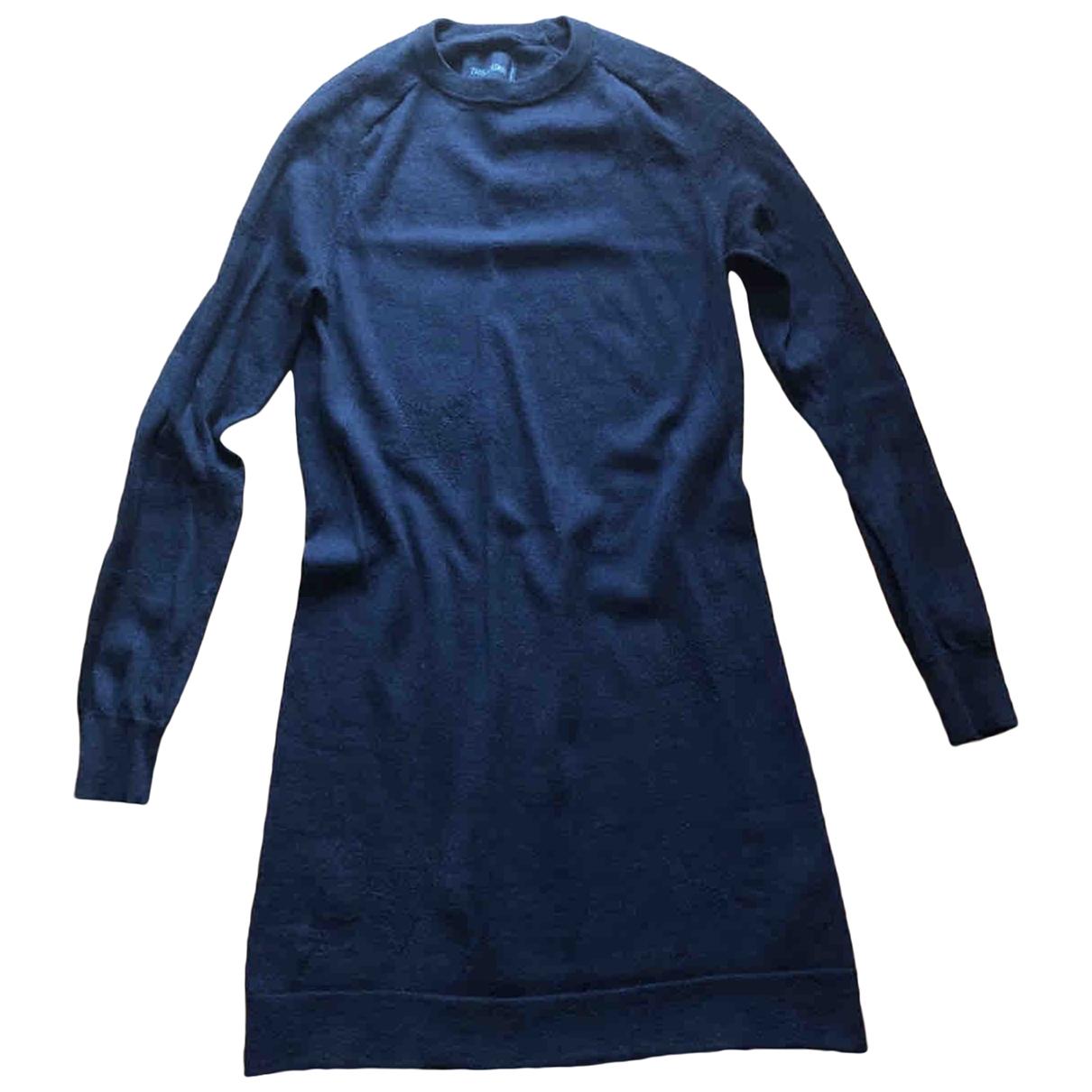 Zadig & Voltaire - Robe   pour femme en laine - bleu