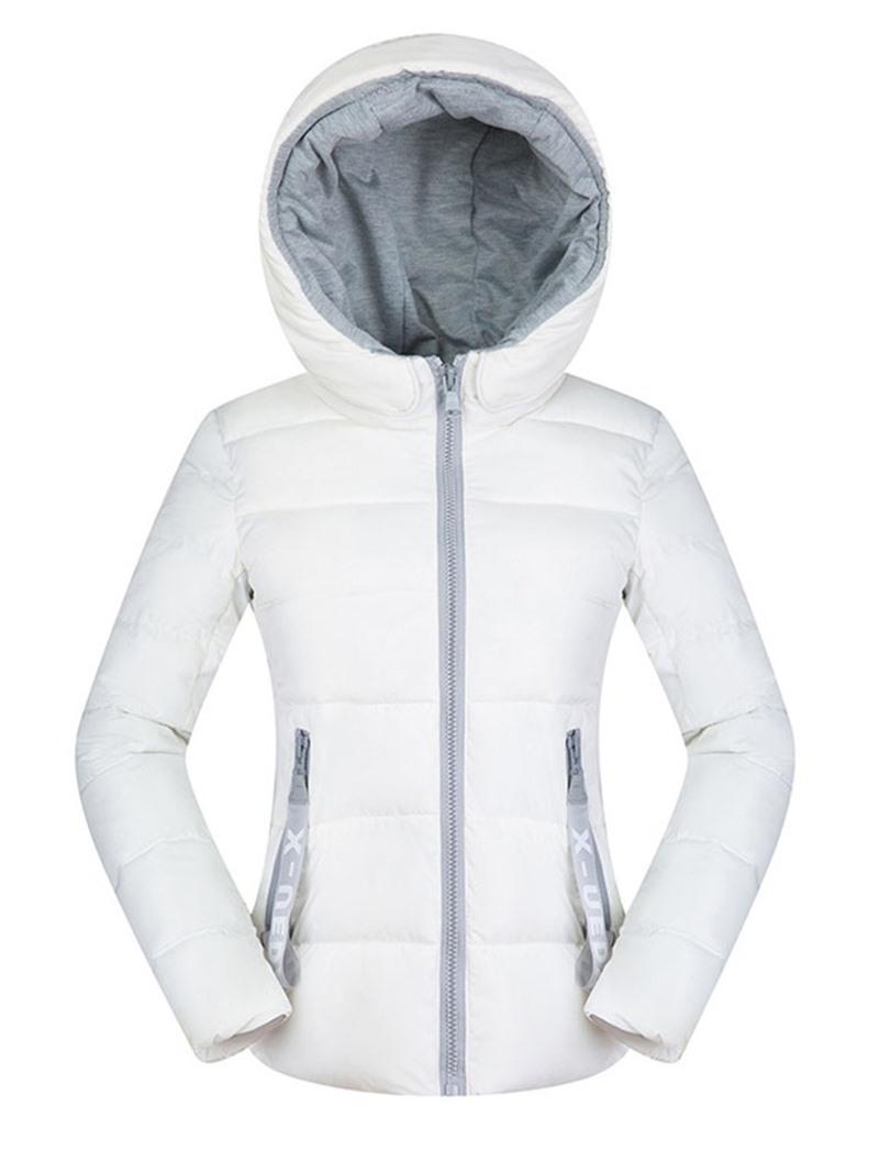 Ericdress Pocket Zipper Slim Standard Cotton Padded Jacket