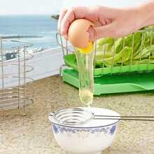 1pc Stainless Steel Egg Divider