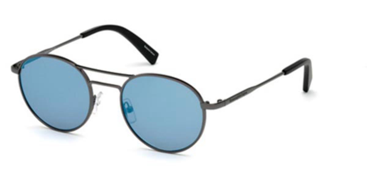 Ermenegildo Zegna EZ0089 08C Men's Sunglasses Grey Size 50