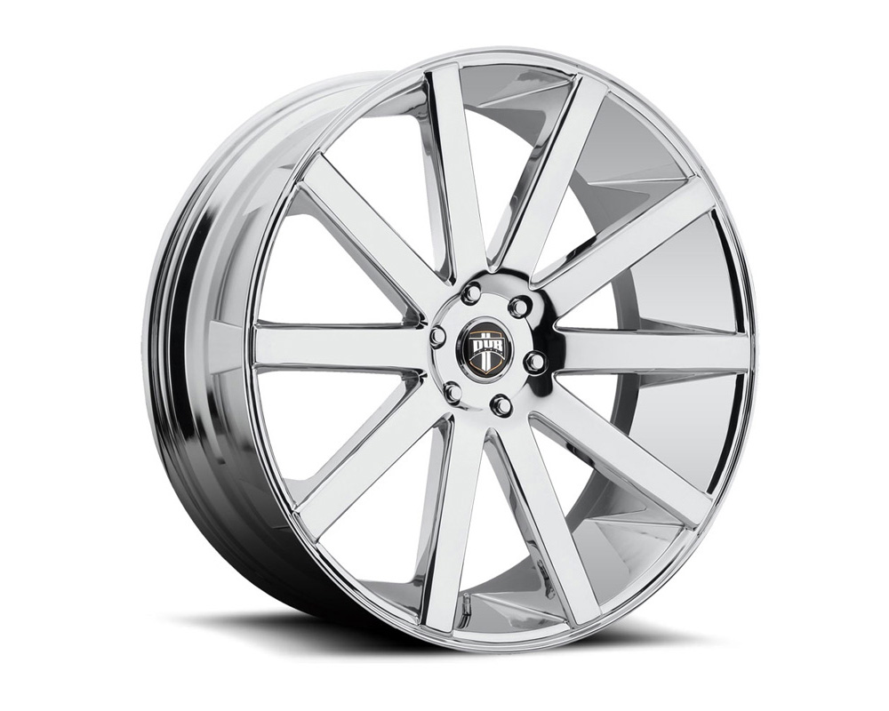 DUB S120 Shot Calla Chrome 1-Piece Cast Wheel 26x10 6x139.7 20mm