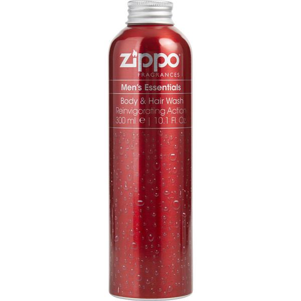 Mens Essentials - Zippo Duschgel fuer Korper und Haare/Gel Douche Corps et Cheveux 300 ml