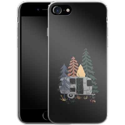 Apple iPhone 8 Silikon Handyhuelle - Wild Airstream von ND Tank