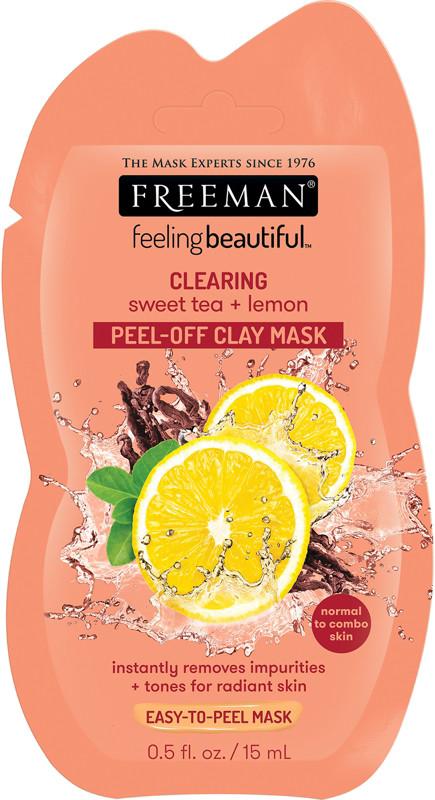 Sweet Tea & Lemon Peel-Away Clay Mask - 0.5oz