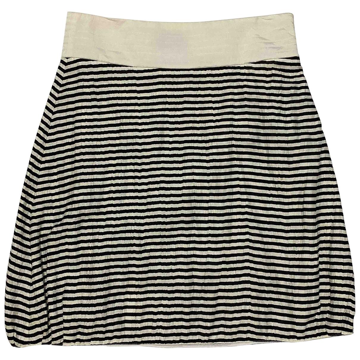Emporio Armani \N Multicolour Linen skirt for Women 42 IT