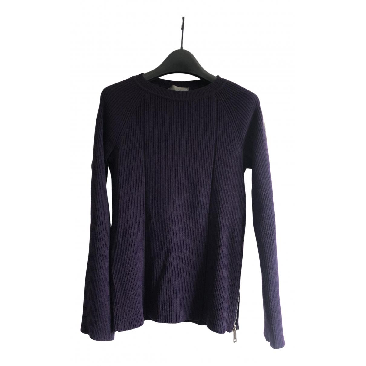 Sport Max - Pull   pour femme en laine - violet