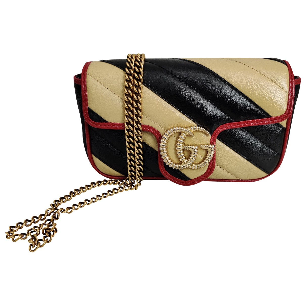 Gucci Marmont Beige Leather handbag for Women \N