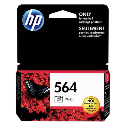 HP 564 CB317WN Original Photo Black Ink Cartridge