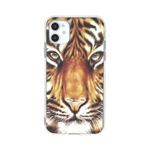 1pc Tiger Print iPhone Case