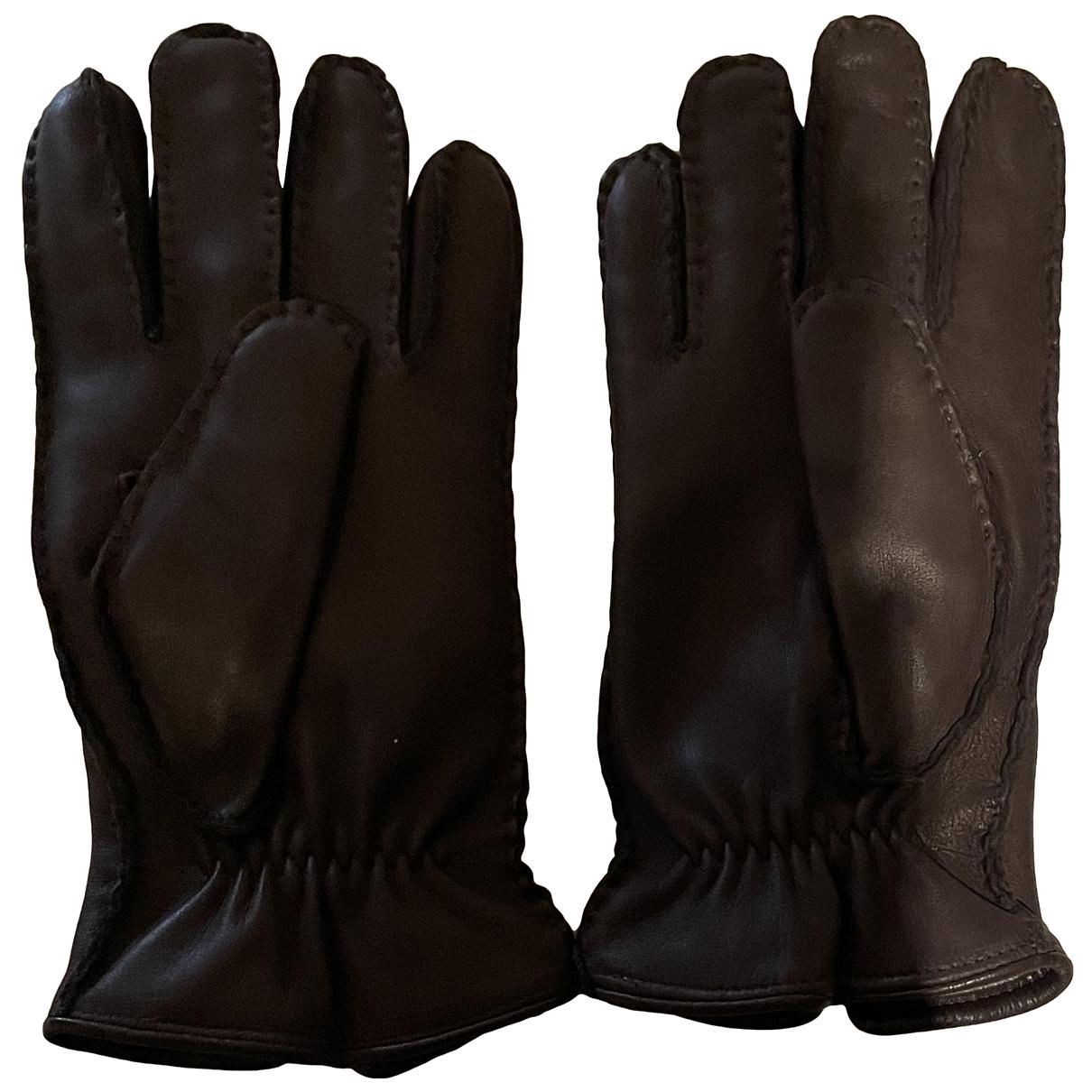 Suitsupply - Gants   pour homme en cuir - marron