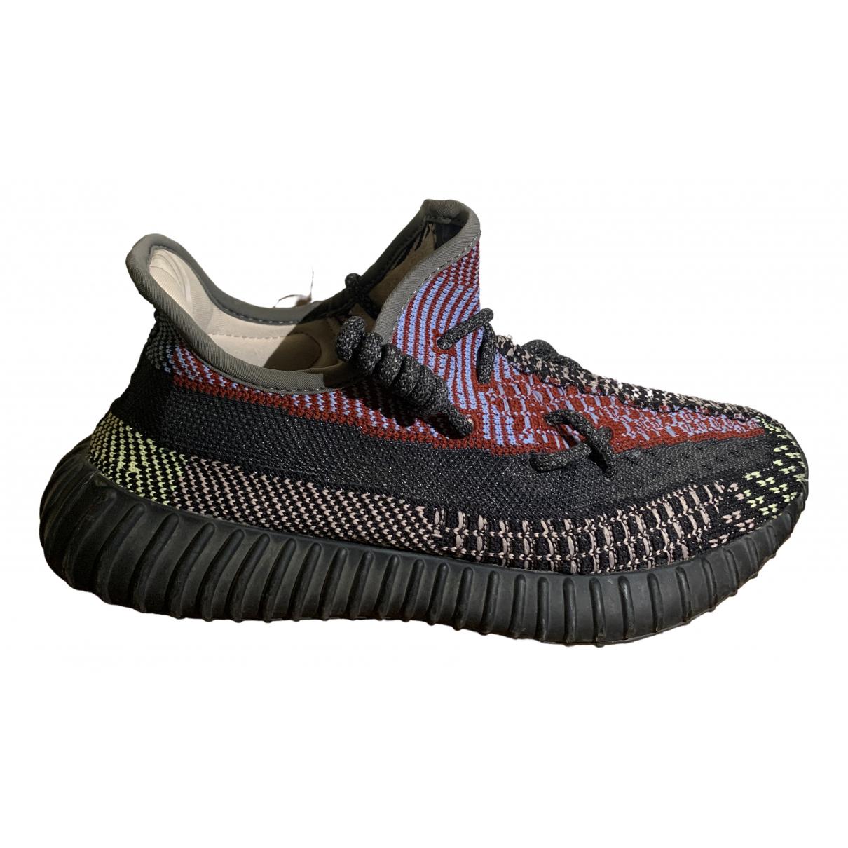 Yeezy X Adidas - Baskets Boost 350 V2 pour homme en toile - multicolore