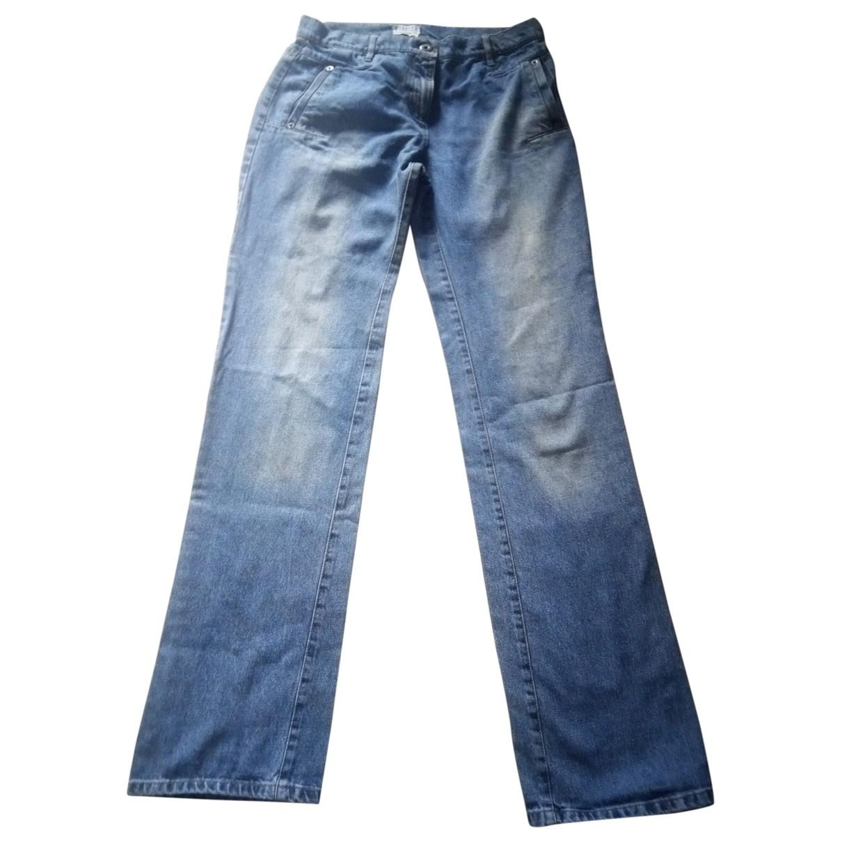 Marella \N Blue Cotton Jeans for Women 41 FR