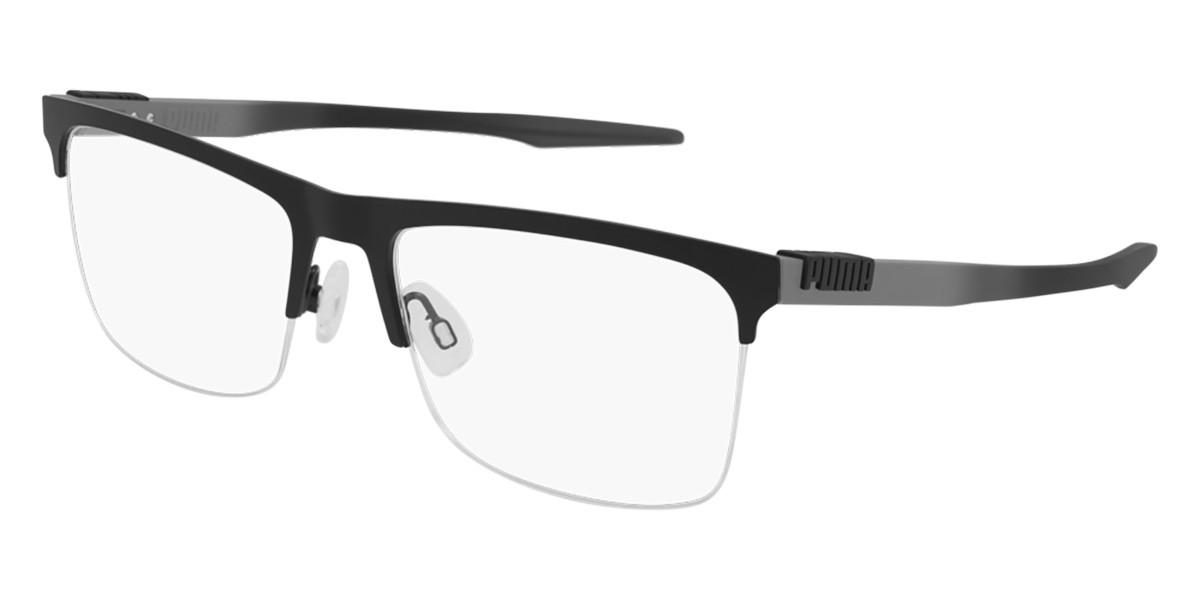 Puma PU0309O 001 Men's Glasses Black Size 60 - Free Lenses - HSA/FSA Insurance - Blue Light Block Available