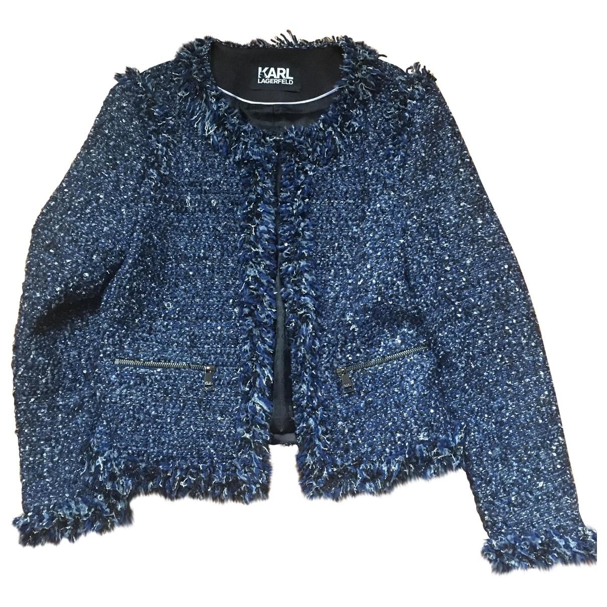 Karl Lagerfeld - Veste   pour femme - bleu