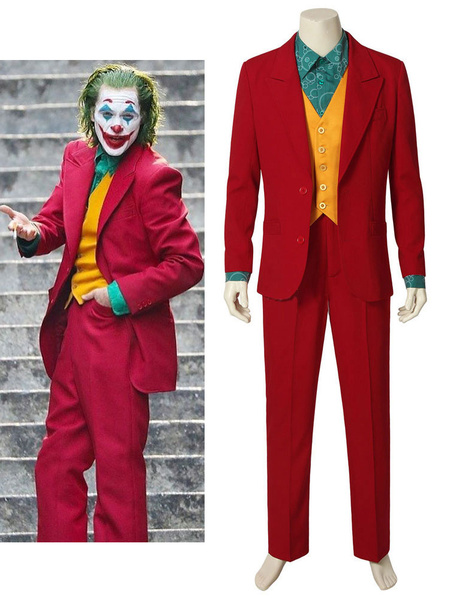 Milanoo The Joker Film 2020 Cosplay Arthur Fleck Cosplay Set