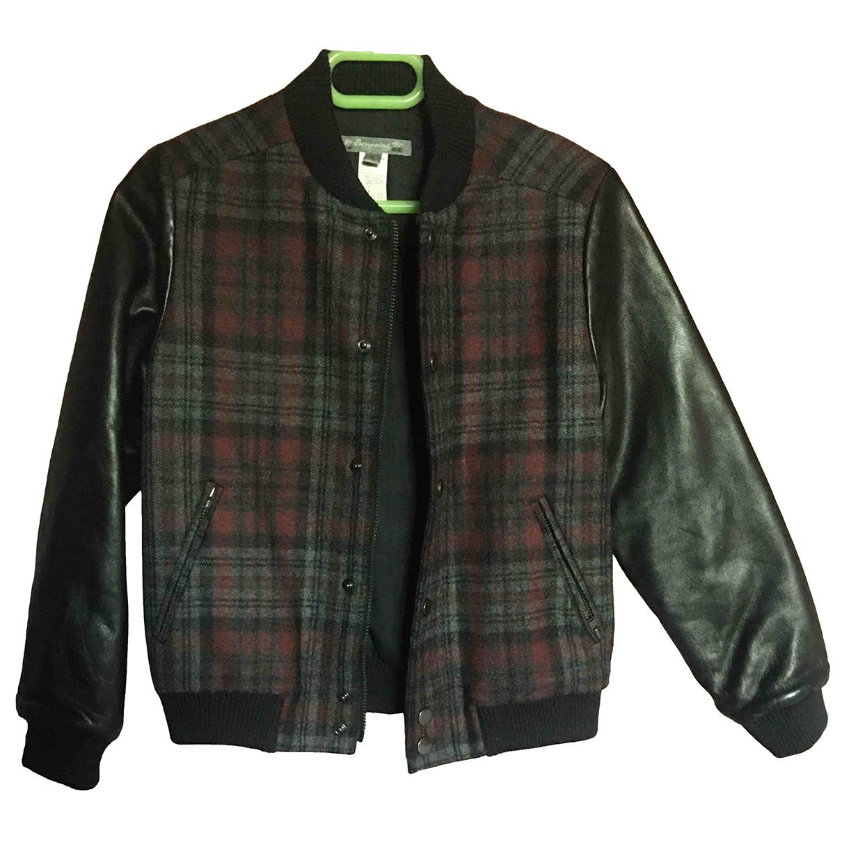 Bonpoint - Blousons.Manteaux   pour enfant en cuir - noir